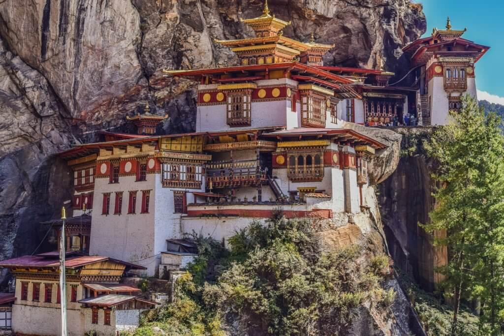 Tigers Nest Kloster in Bhutan