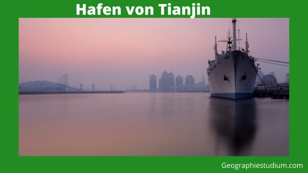 Hafen von Tianjin