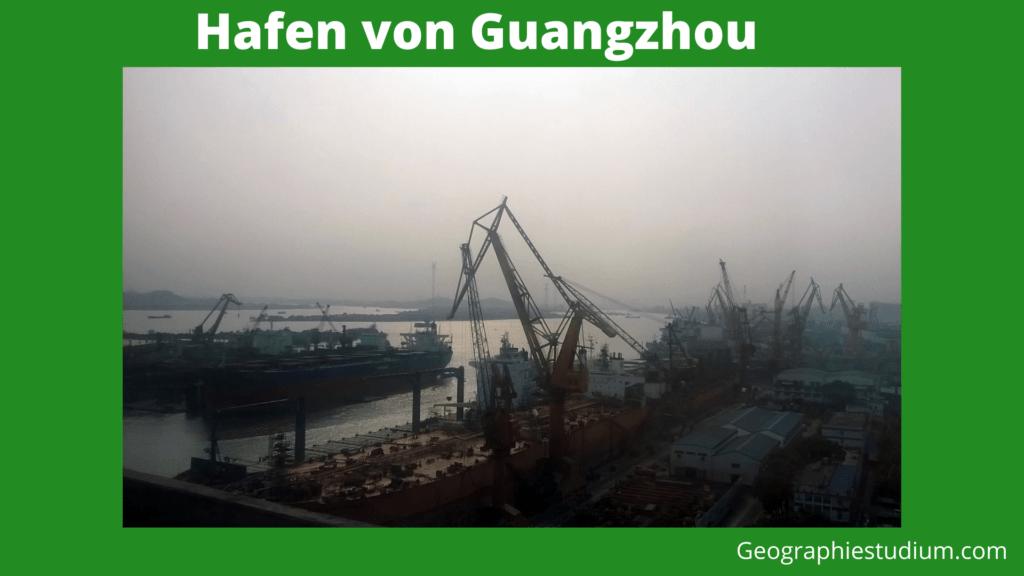 Hafen von Guangzhou