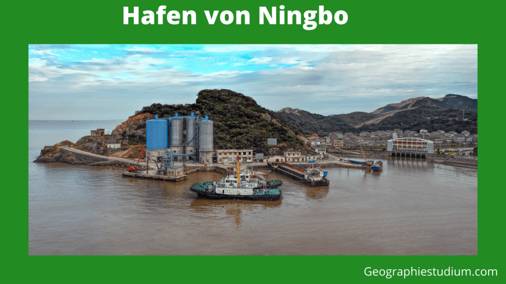 Hafen von Ningbo