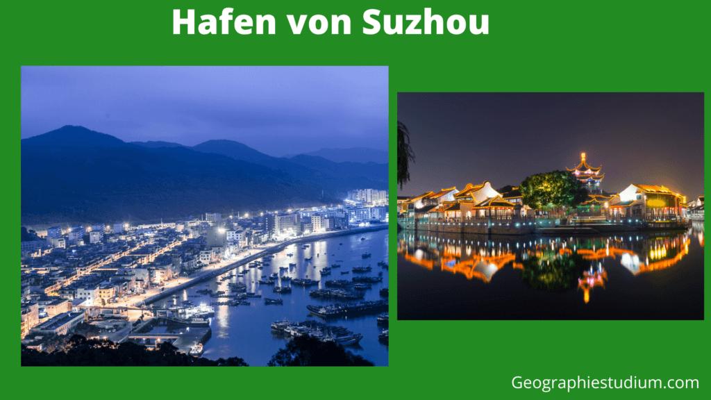 Hafen von Suzhou