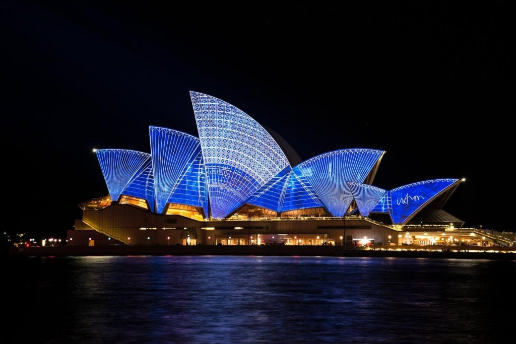 Naturhafen in Sydney