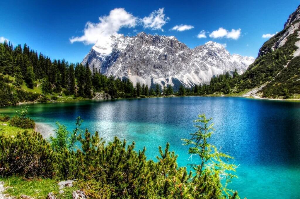 Zugspitze - höchster Berg Europas